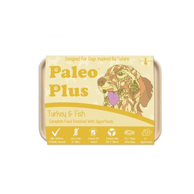 Paleo Plus Turkey and Fish 500g