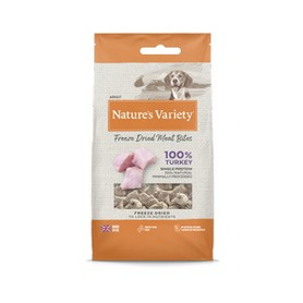 Natures Variety Freeze Dried Meat Bites Dog Treats 20g